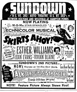 The Sundown Theater 1952