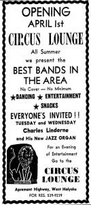 Circus Lounge, Holyoke, MA