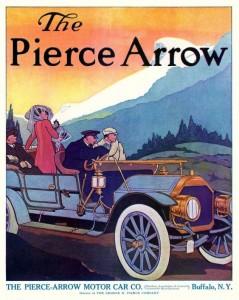 Vintage Pierce-Arrow Ad