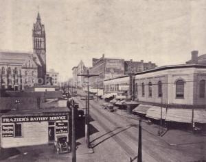 Dwight Street Looking West, 1923