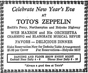 Toto's Zeppelin, 1935