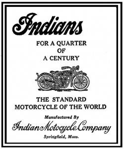 Indian Motorcycle Company, 1925