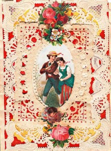 Vintage Esther Howland Card