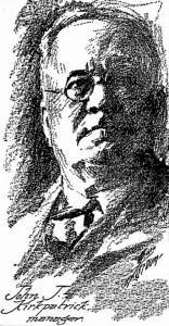 John J. Kirkpatrick, Manager