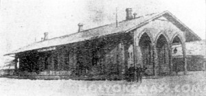 The Old Passenger Station at Holyoke