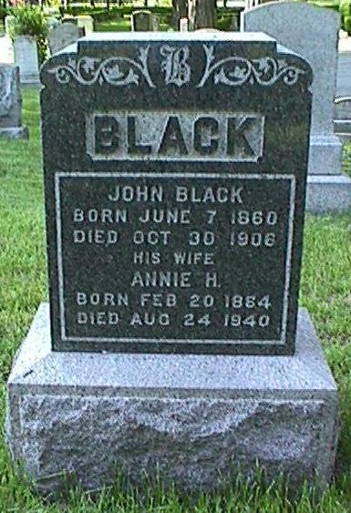 John Black, 1860 - 1906