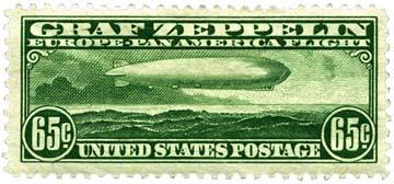1930 Zeppelin Stamp