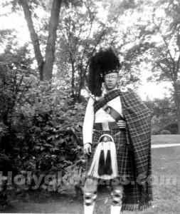 Holyoke Kilty Band Regalia, mid 1940s