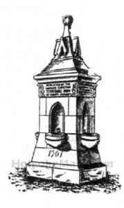 W.C.T.U. Water Fountain