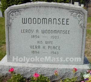 Woodmansee Tombstone