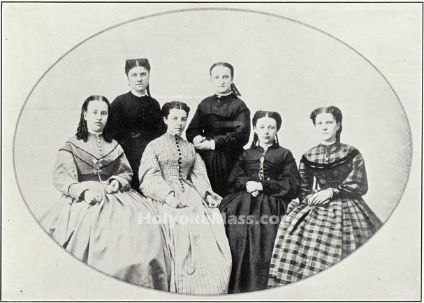 First Holyoke High School Graduating Class, 1865