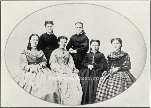 First Holyoke High School Graduating Class, 1865