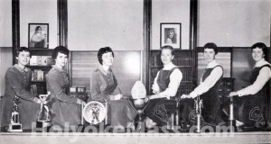 Cheerleaders, Sacred Heart High School 1957
