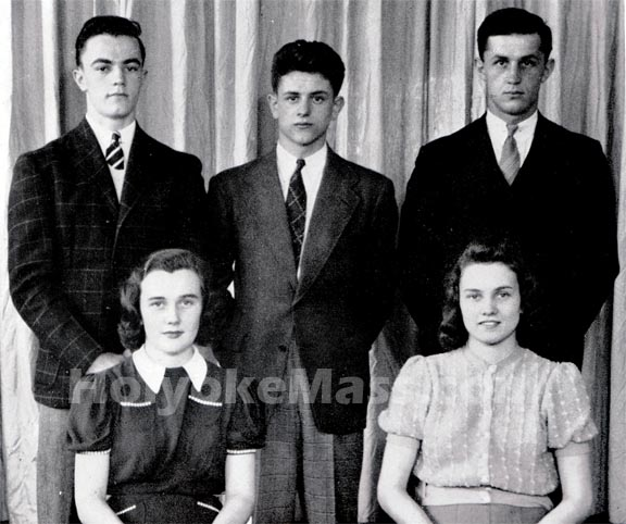 Holyoke High School, Senior Class Officers, 1939