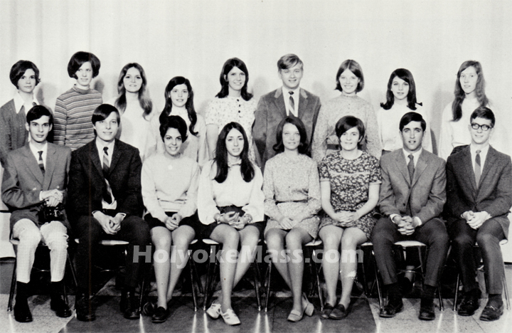 Holyoke High School, Herald Staff, 1969
