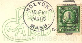 Holyoke Postmark