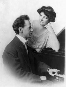 Ossip Gabrilowitsch & Clara Clemens