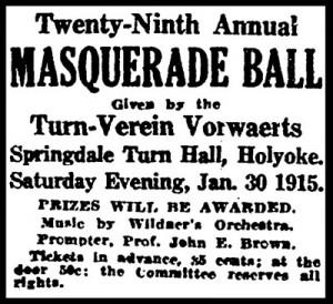 Turn-Verein Masquerade Ball