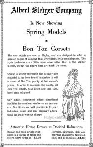 Bon Ton Corsets from Steiger's