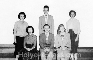 German Club -- Holyoke High School, 1953-1954