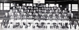Football — Holyoke High School, 1953-1954