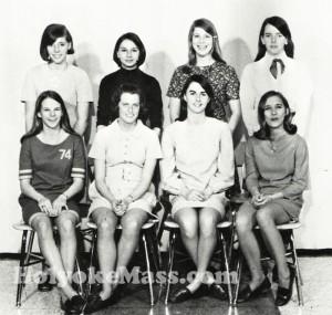 HHS 1969 Girls Gymnastic team
