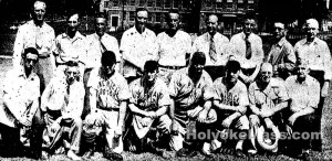 Holyoke Kacey Tourney Players and CommitteemenMackenzie Field, Holyoke, Massachusetts 02 September 1944