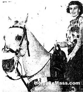 Winner of the first stock horse race !9 September 1949
