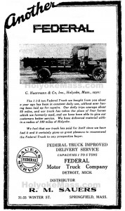 G. Haarmann & Co.Federal Trucks