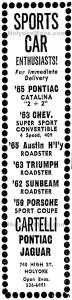 27 October 1966Cartelli  740 High Street, Holyoke, Mass
