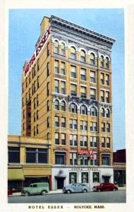 Hotel Essex, Holyoke, Mass. -- 1940's Era